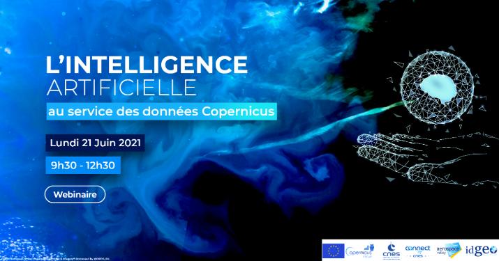 Webinaire : L'intelligence artificielle au service des données Copernicus