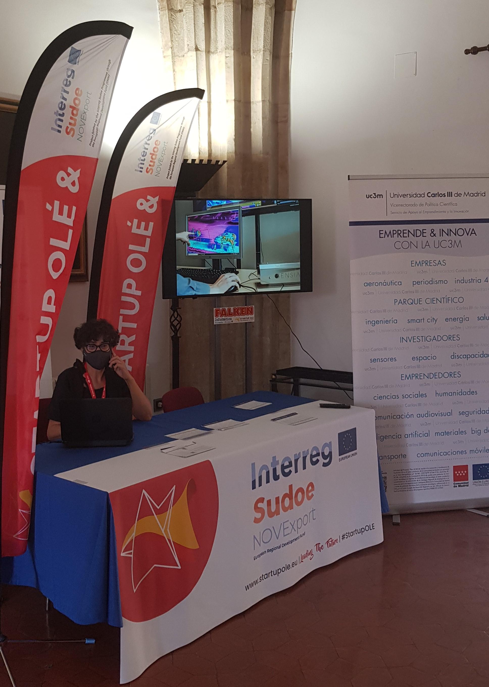 NOVExport en Startup Olé 2021 - Salamanca